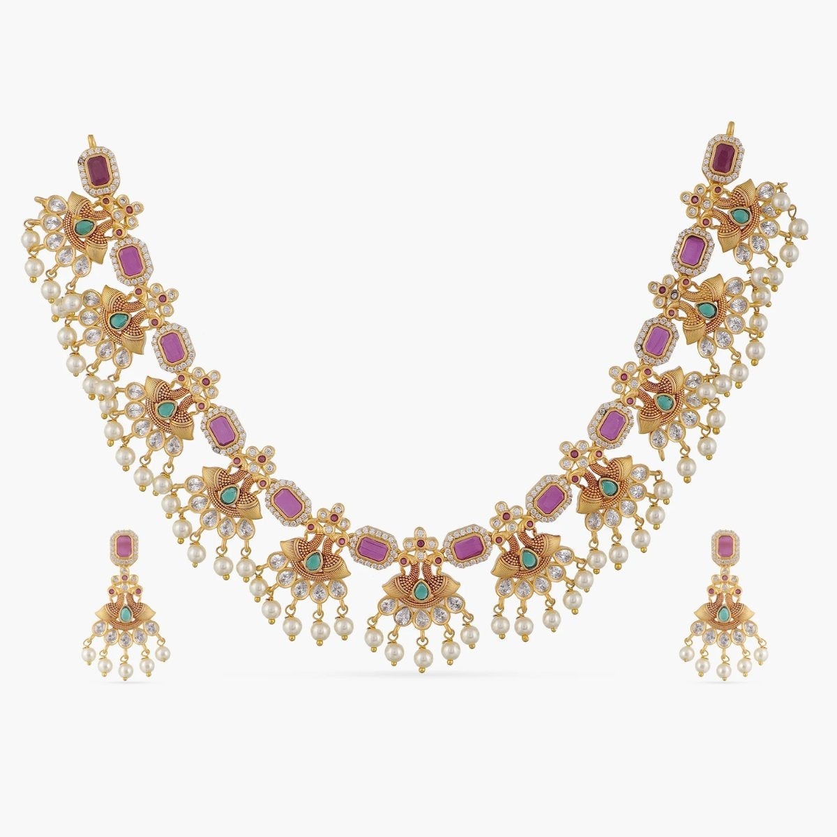 Bagya Antique Necklace Set