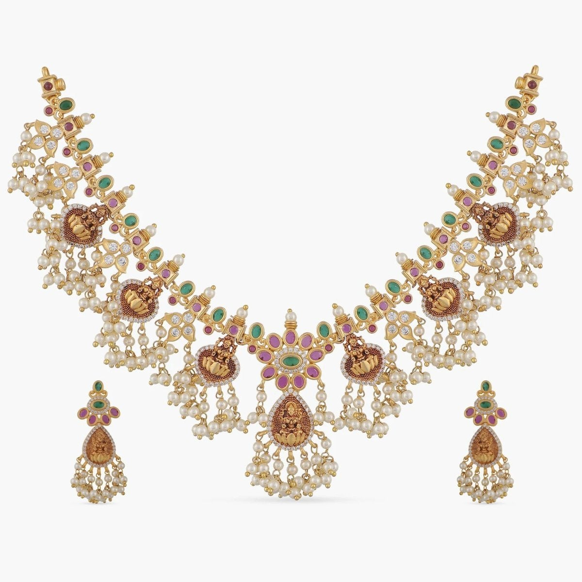 Laasya Antique Necklace Set