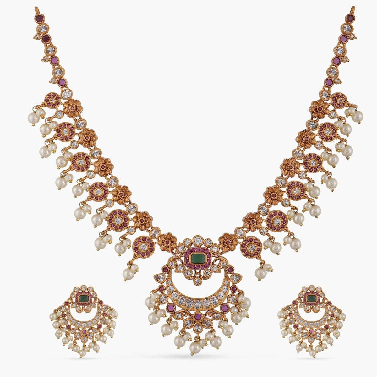 Dhun Antique Necklace Set