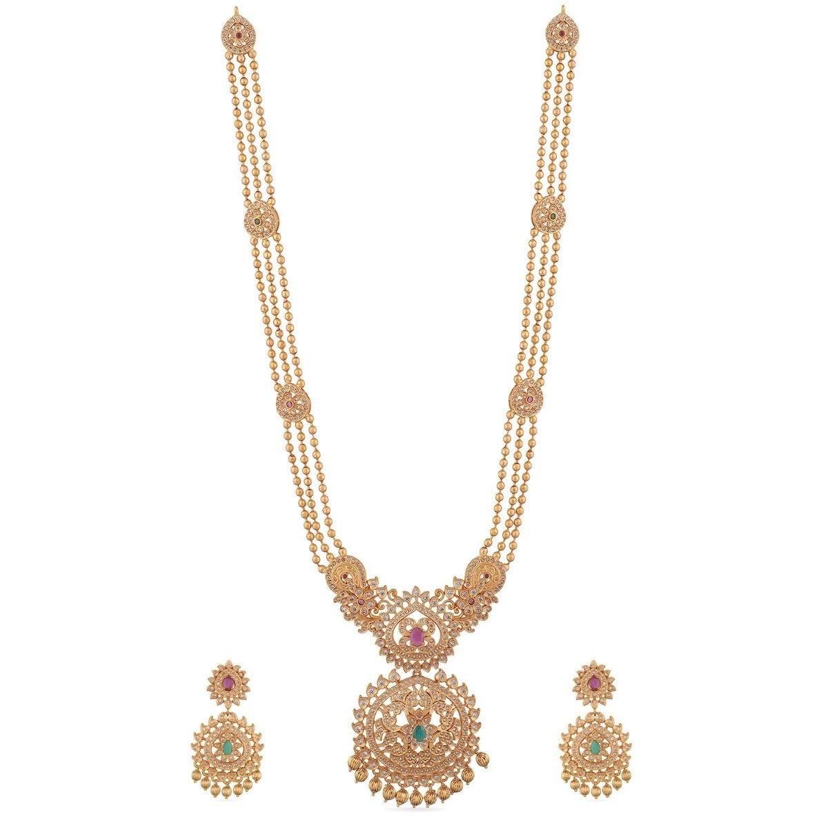 Binal Antique Long Necklace Set