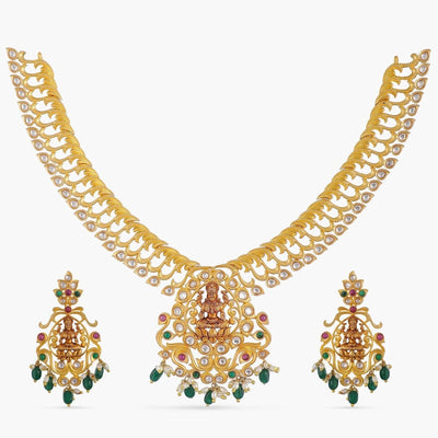 Hiranya Kundan Necklace Set