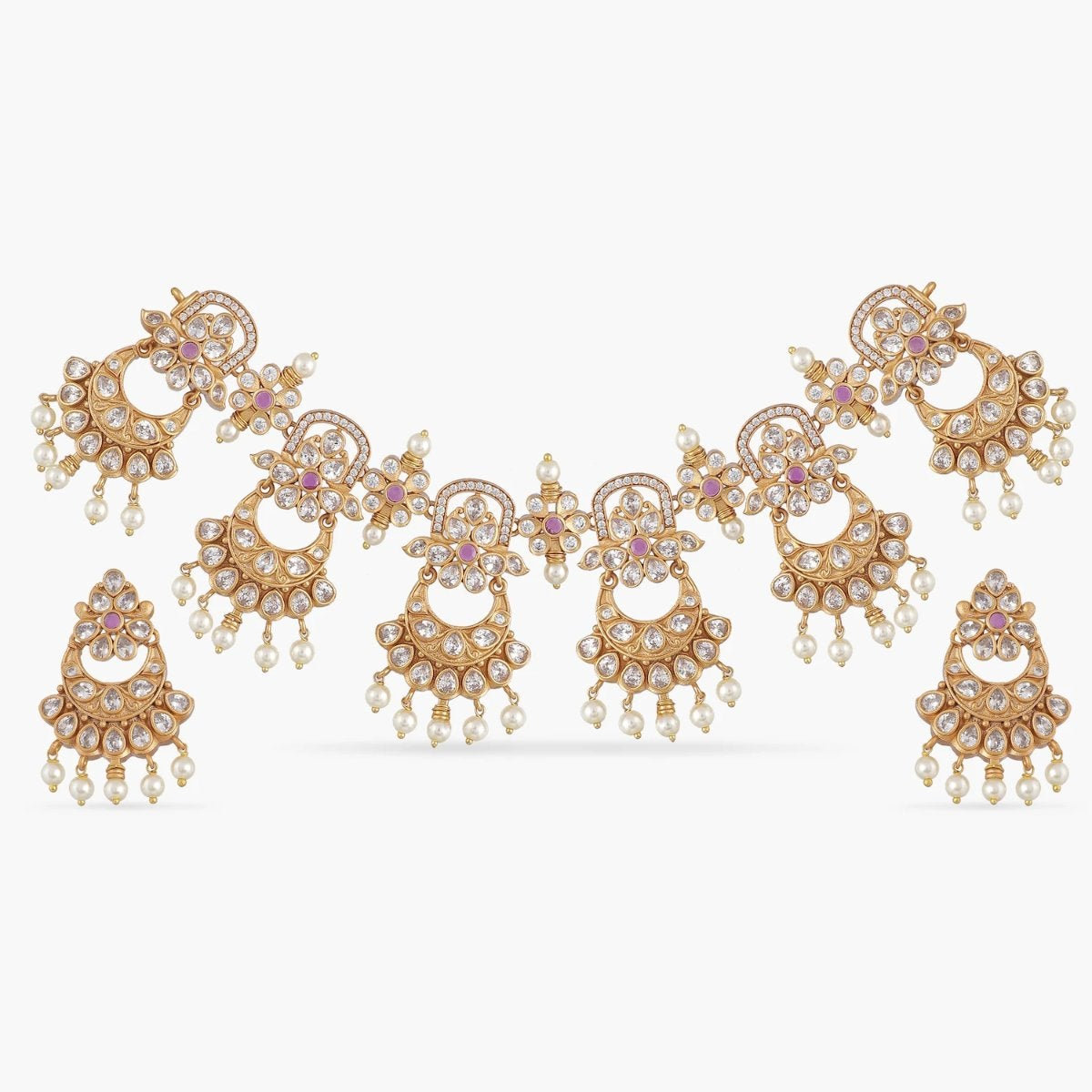 Maisha Antique Necklace Set