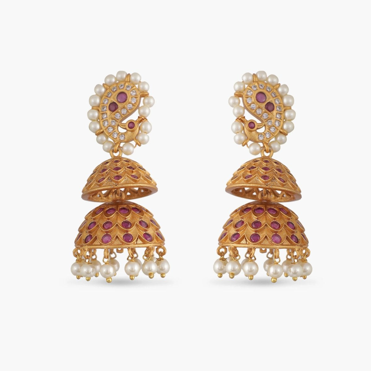 Nadira Antique Jhumka Earrings