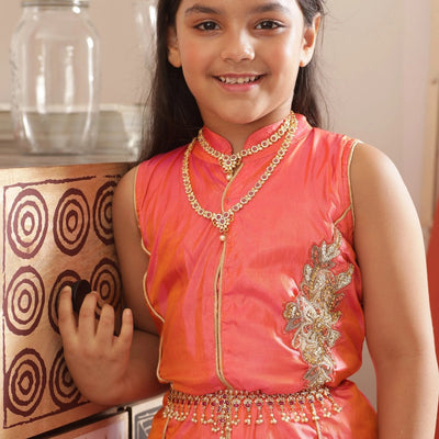 Mitali Nakshatra CZ Kids Long Necklace
