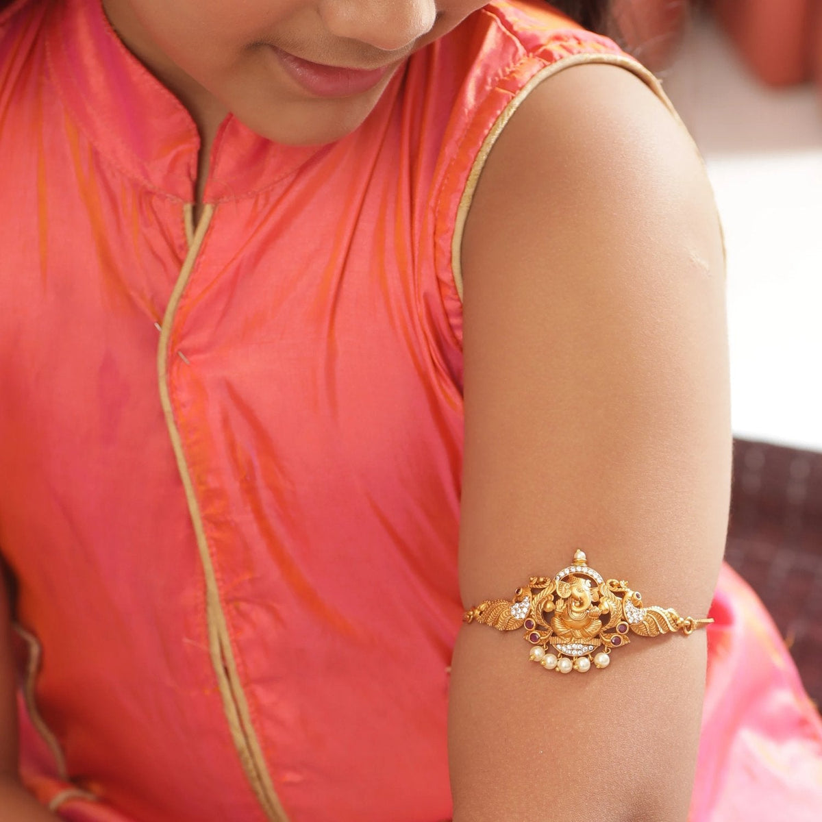 Megha Antique Kids Armlets