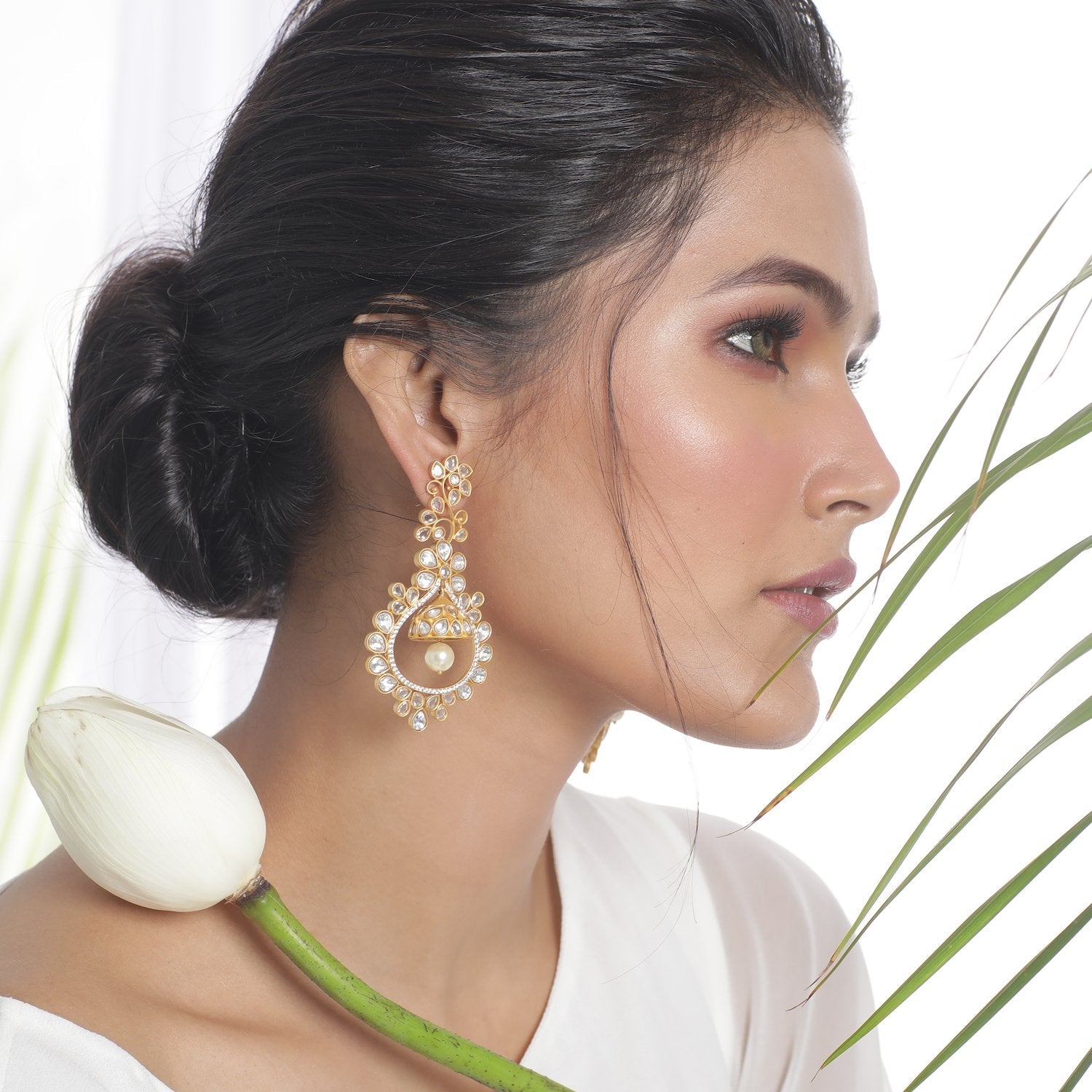 Bahiya Kundan Earrings