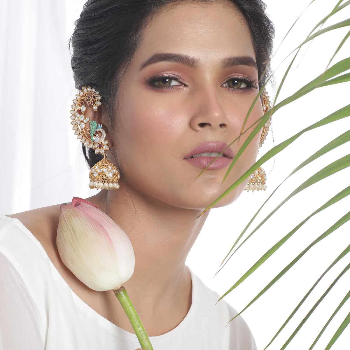Udita Kundan Earrings