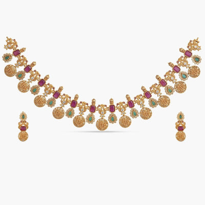 Mahika Antique Necklace Set