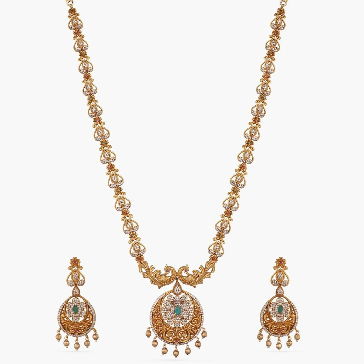 Tisya Antique Long Necklace Set