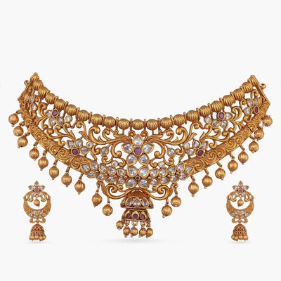 Banhi Antique Choker Set