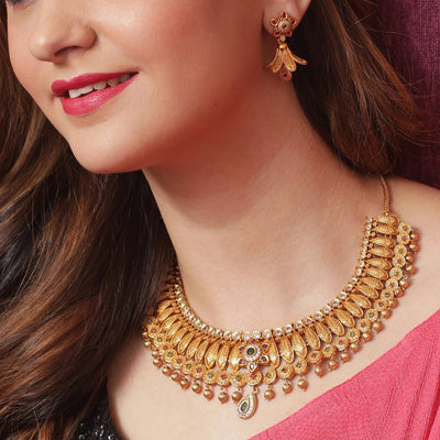 Mohi Antique Neckalce Set