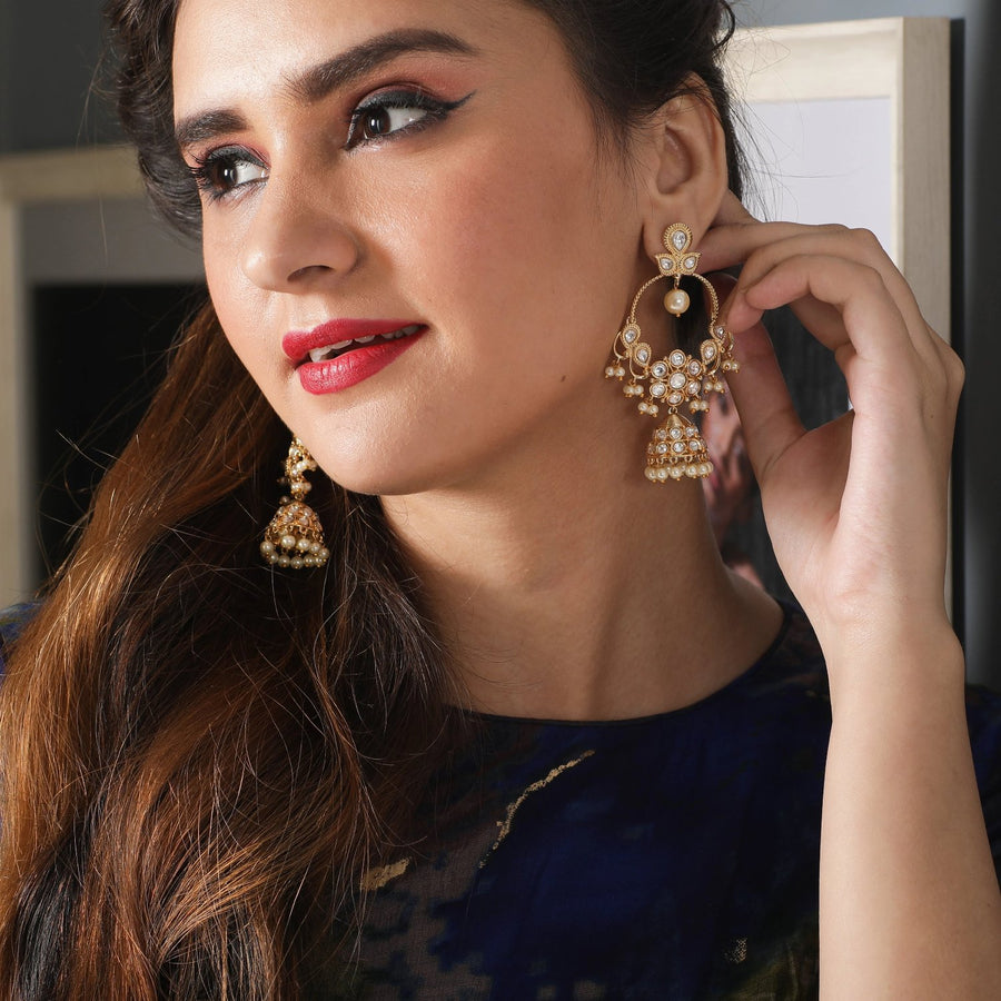 Idaya Kundan Earrings