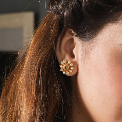 Rena Antique Earrings by Tarinika