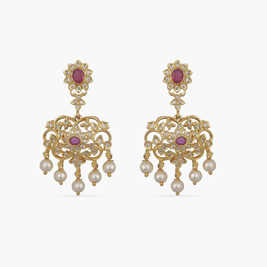 Samyukta Nakshatra CZ Earrings