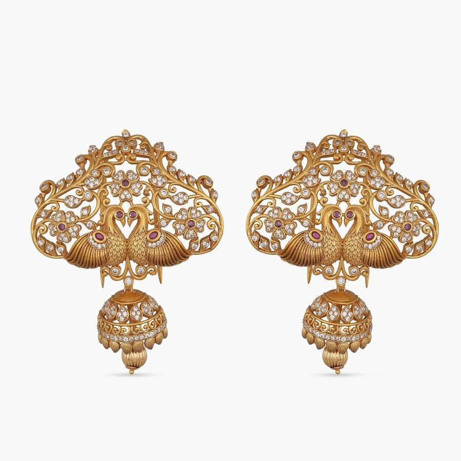 Malavika Antique Hair Brooch