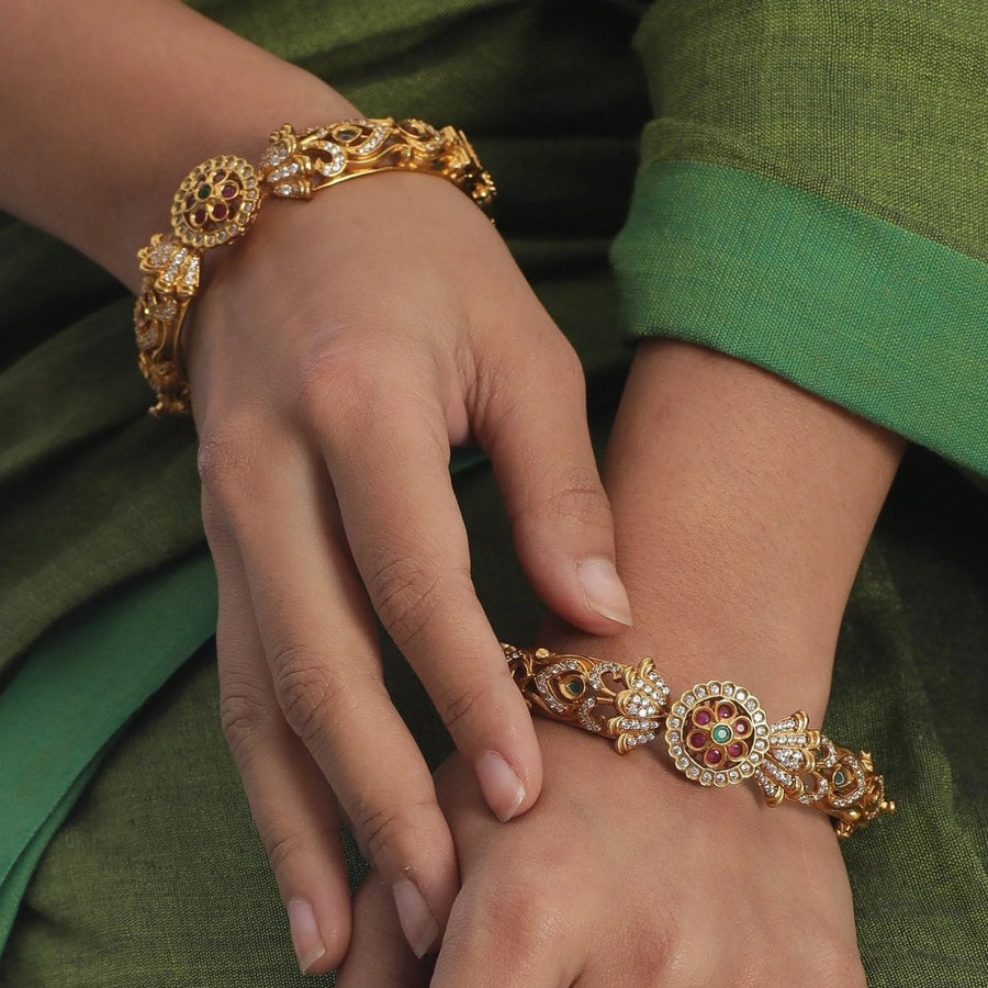 Sarang Antique Bangles