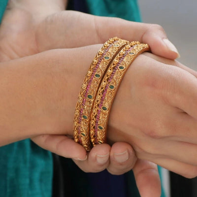 Sira Antique Bangles by Tarinika