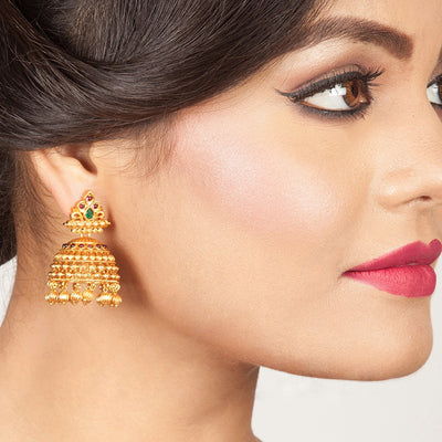 Bhanu Jhumka Earrings