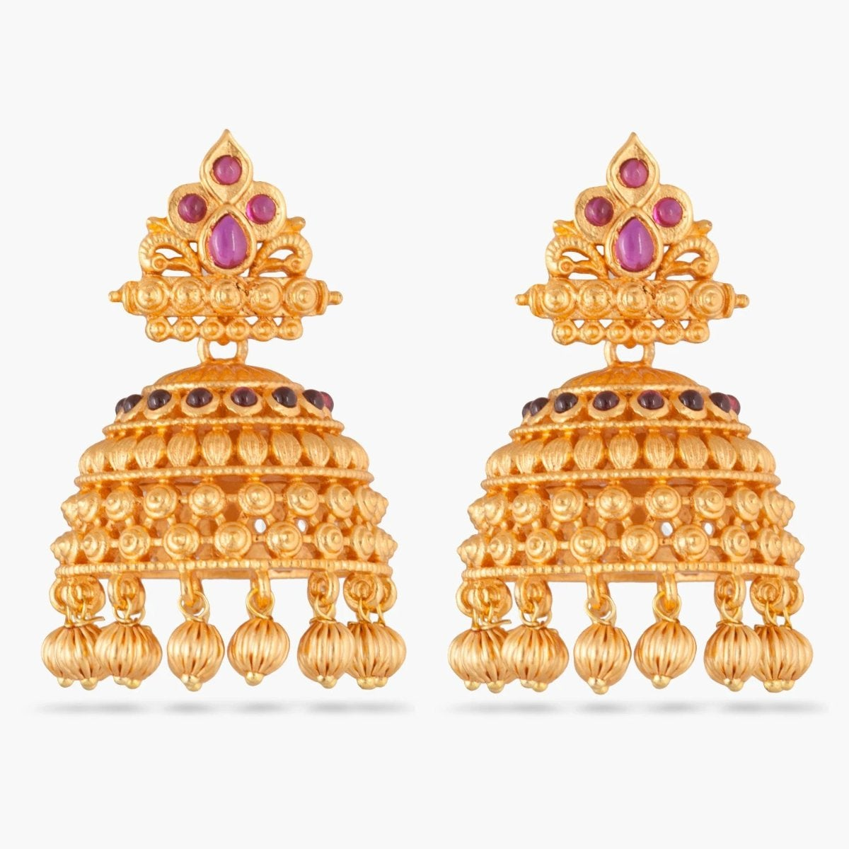 Bhanu Antique Jhumka Earrings