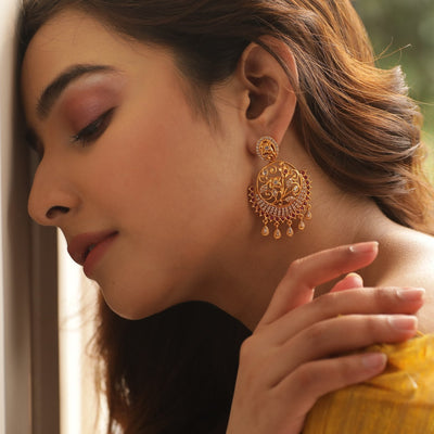Eesha Antique Earrings