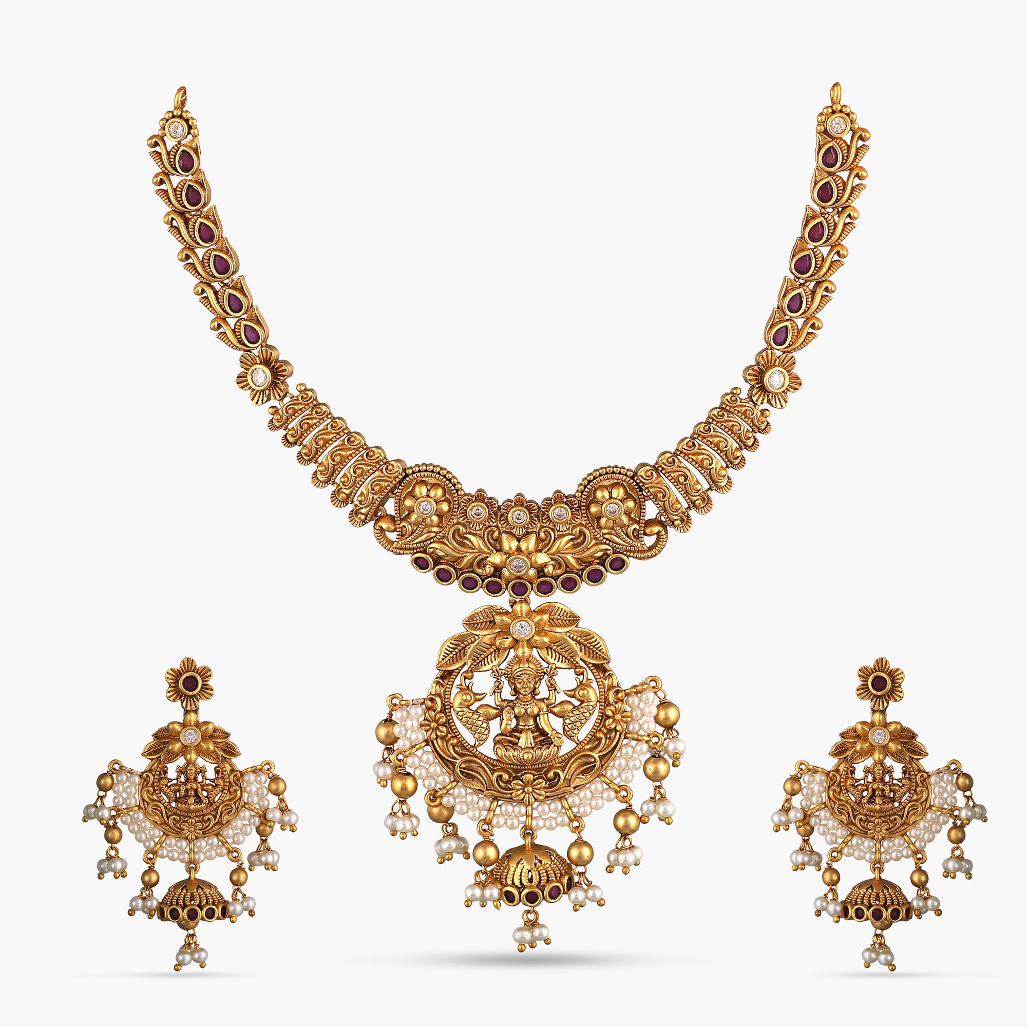 Vachi Antique Necklace Set