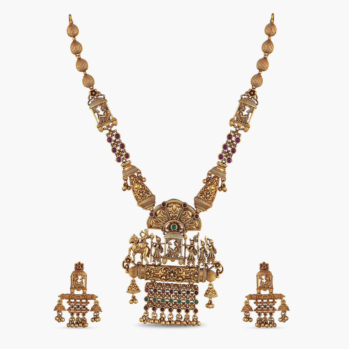 Aina Antique Necklace Set