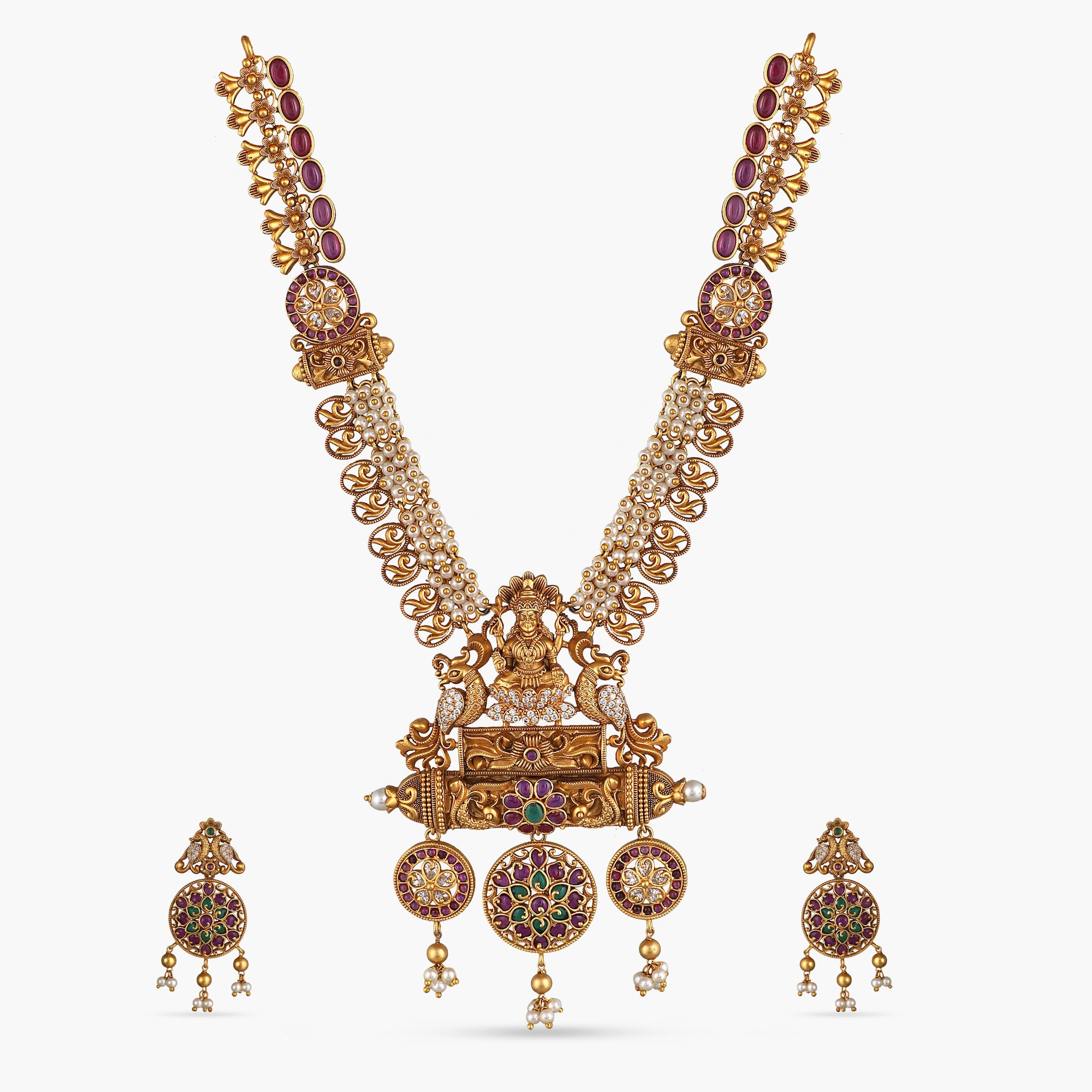 Riddhi Antique Necklace Set