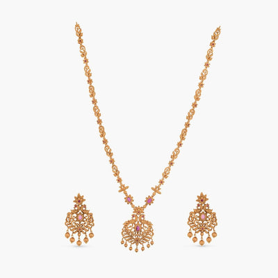 Rashmil Long Necklace Set