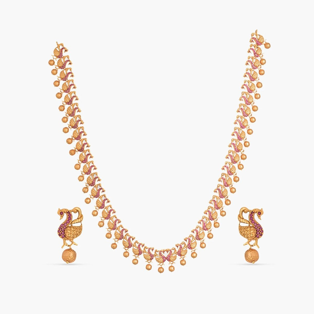 Sameen Long Necklace Set