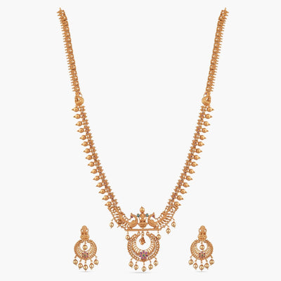 Hami Long Necklace Set