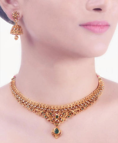 Shirin Antique Necklace Set