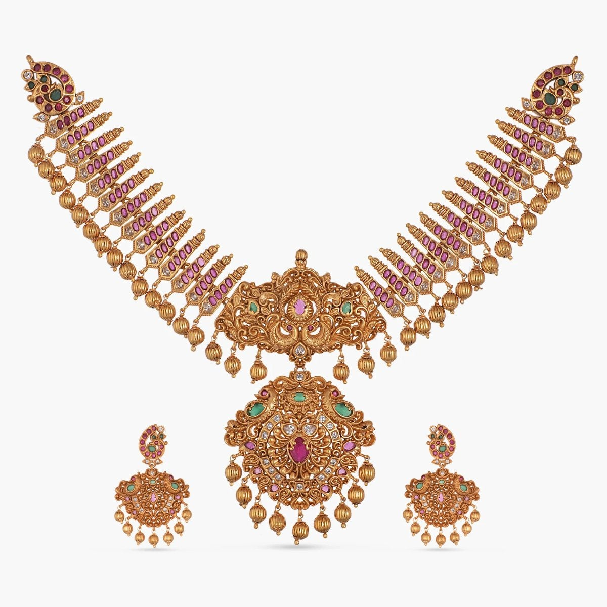 Hennie Antique Necklace Set