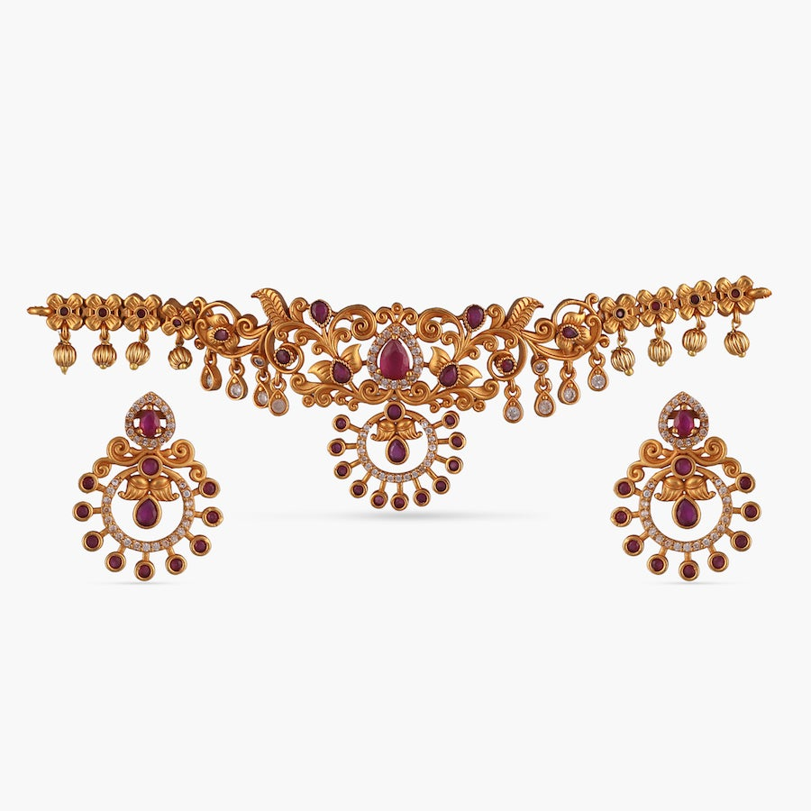 Akshi Antique Choker Set