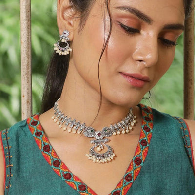 Anu Antique Necklace Set