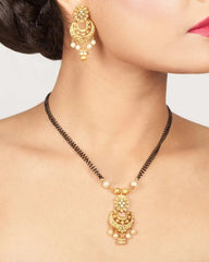 Irya Black Beads Necklace