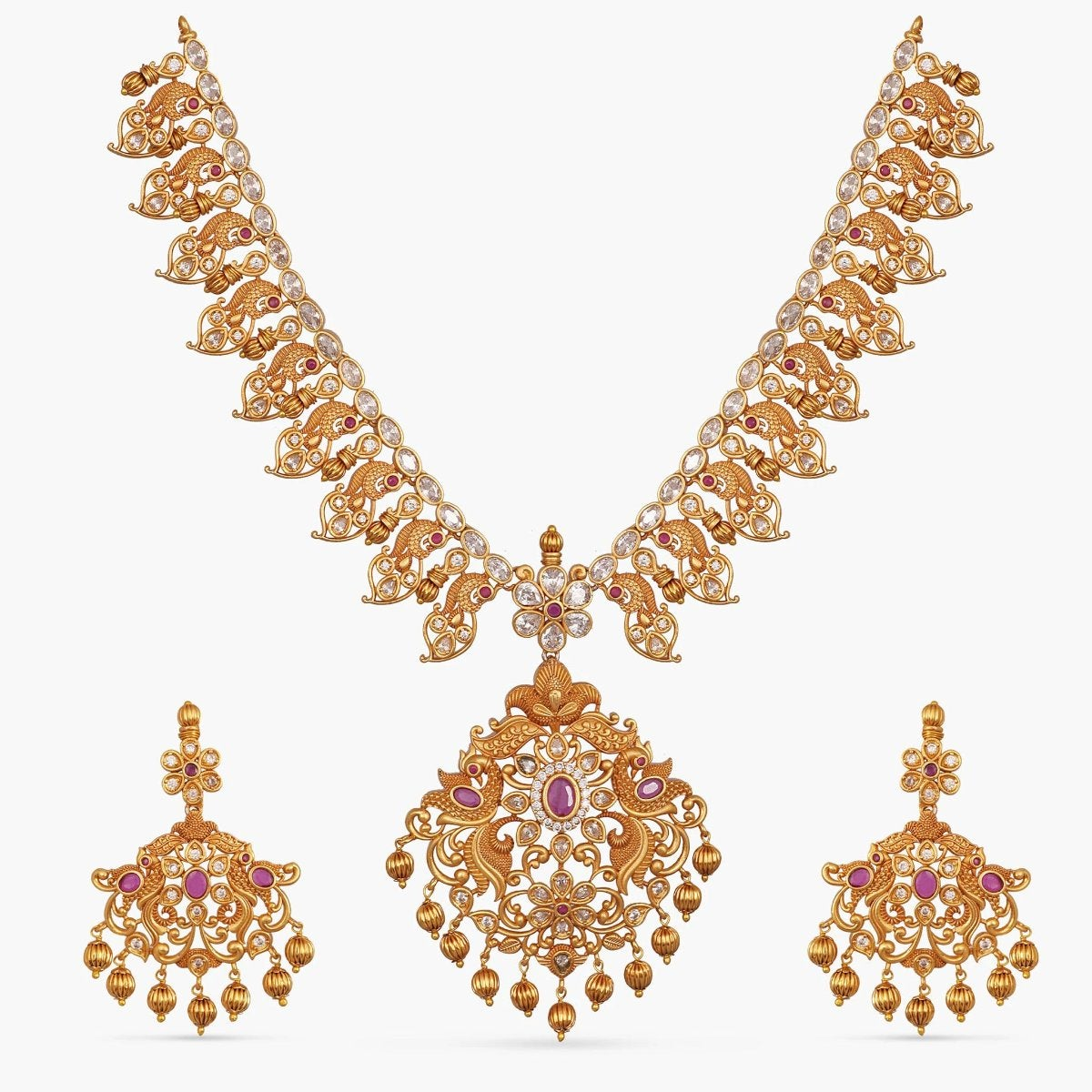 Celia Antique Necklace Set