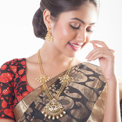 Seher Long Necklace Set