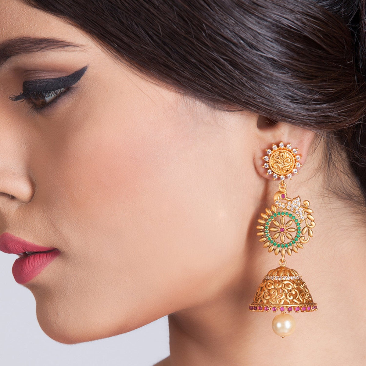Dakini Antique Jhumka Earrings