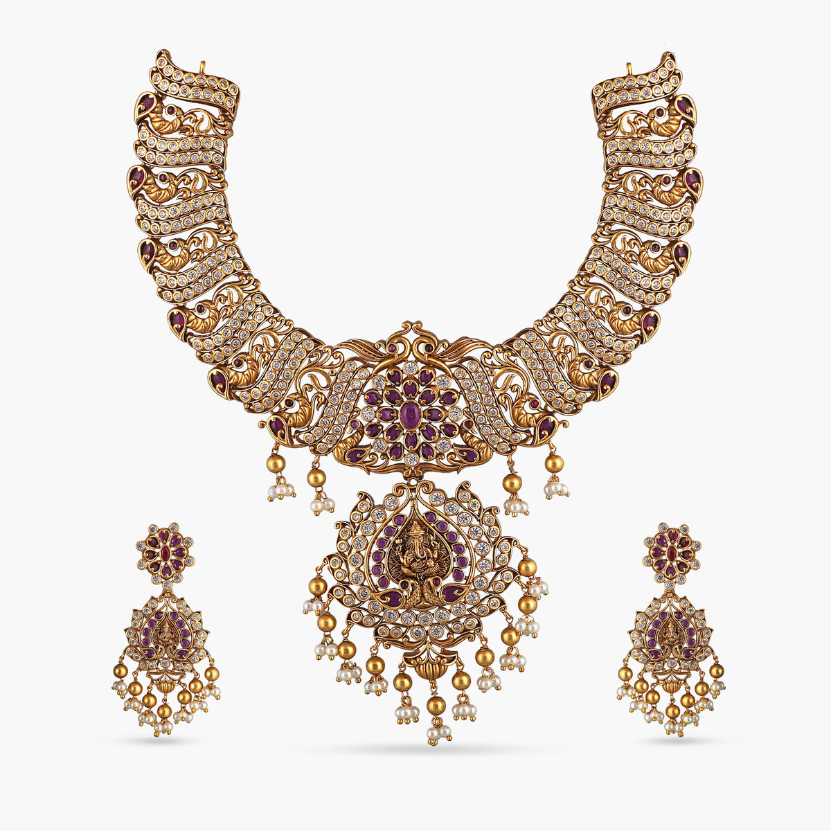 Lavin Antique Necklace Set