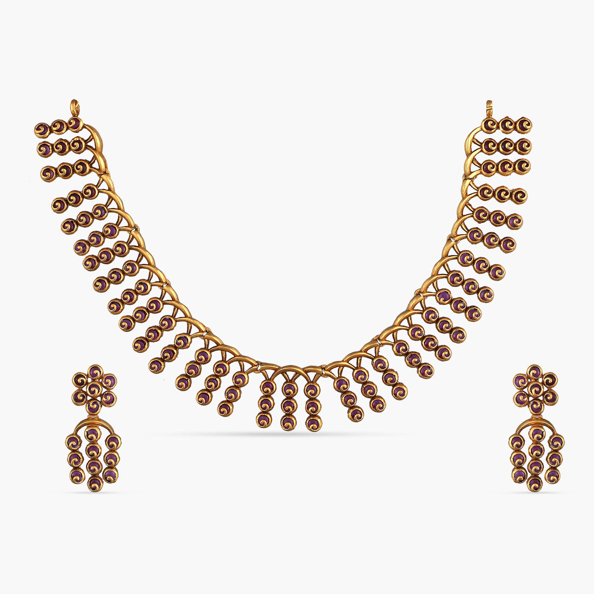 Nehal Antique Necklace Set