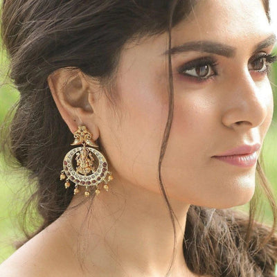 Vahi Nakshatra CZ Earrings