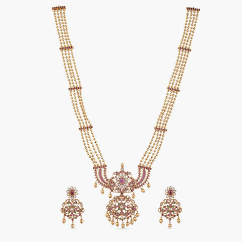 Irja Long Necklace Set