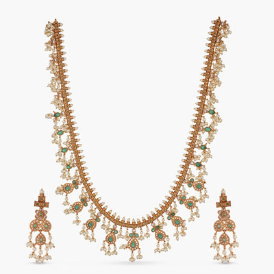 Riva Antique Long Necklace Set