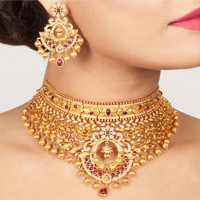 Latafat Antique Choker Set