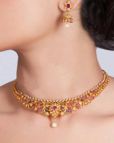 Bagh Antique Necklace Set
