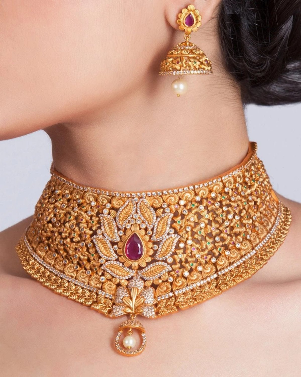 Vasi Antique Choker Set