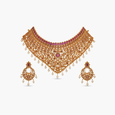 Raabta Antique Choker Set
