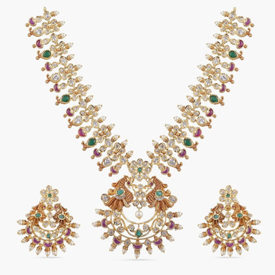 Alisha Nakshatra CZ Necklace Sets