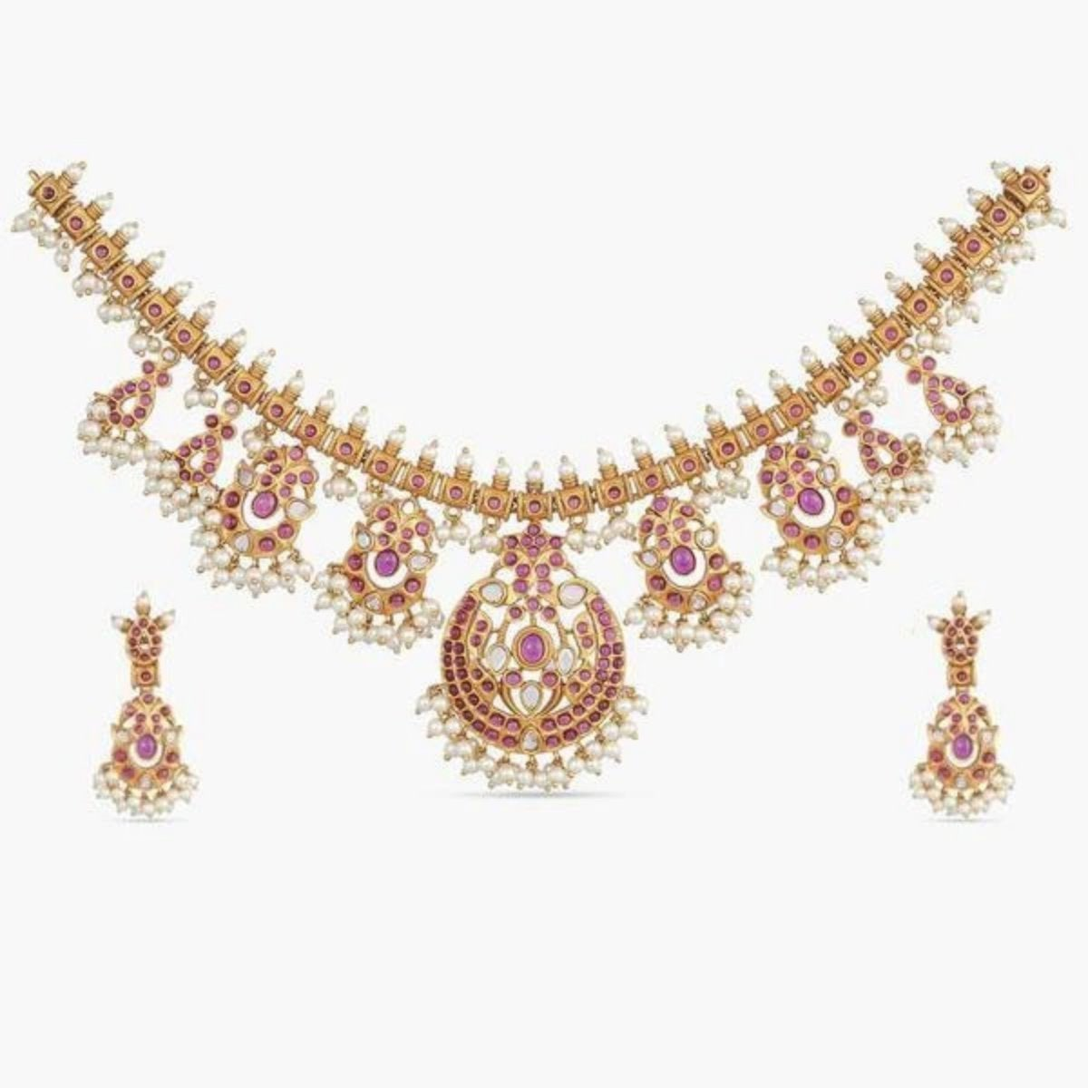 Rani Antique Necklace Set