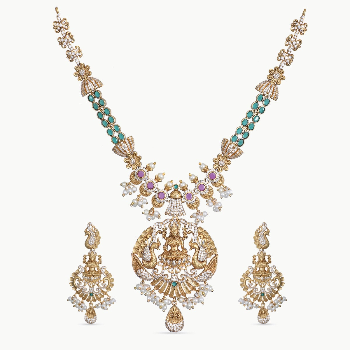 Deepna Antique Necklace Set